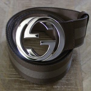 (New) Gucci Big Buckle Belt